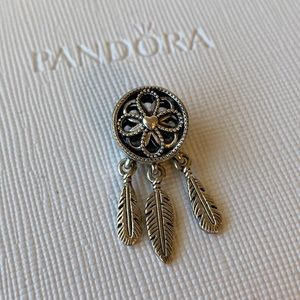 PANDORA SPIRITUAL DREAMCATCHER DANGLE CHARM